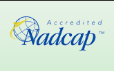 Nadcap Accredited for Quality Systems, Chemical Processing, and Painting
